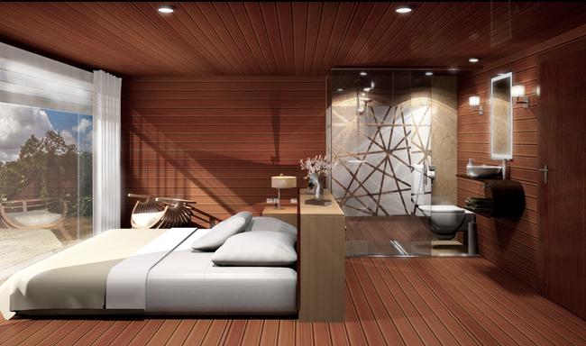 The Upper Deck Room on board the MV Cattleya.