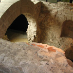Roman ruins found underneath Cologne Cathedral.