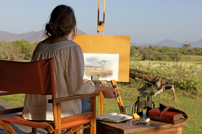Safari for artists