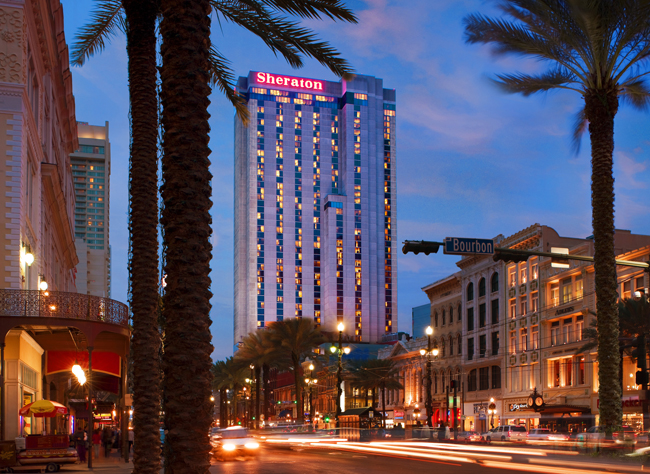 Guests can immerse themselves in art at the Sheraton New Orleans with George Rodrigue Gallery and photography by Jack Robinson on display.