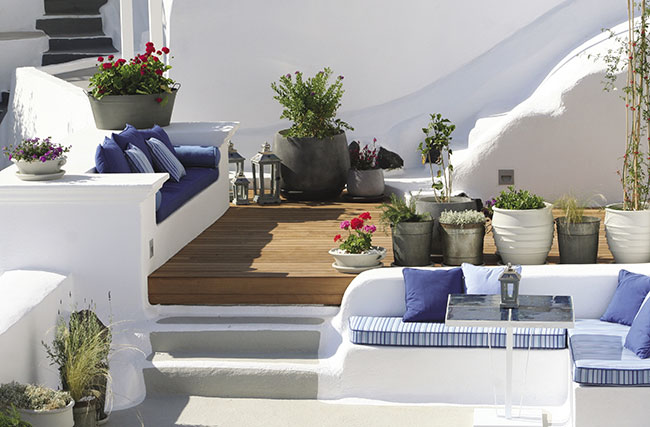Suite accommodations at  Iconic Santorini.