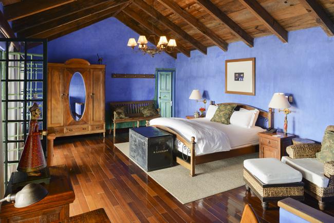 Guestrooms in Casa Palopo.