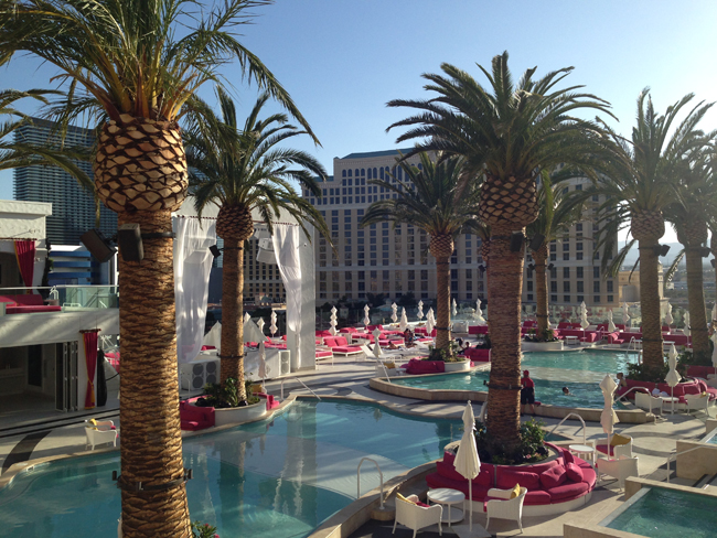 Drai's rooftop Beach Club at The Cromwell.