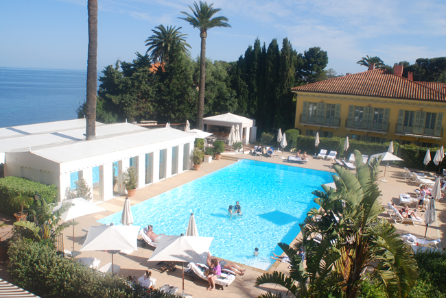 Hotel Royal Riviera in Saint-Jean-Cap-Ferrat.