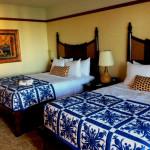 Standard guestroom at Aulani.