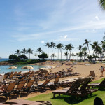 Aulani is situated directly on one of the pristine beaches of Ko Olina.