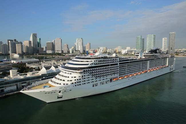 Agents gain extra commission with MSC Cruises.