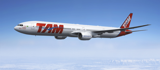 TAM Airlines is increasing service during the FIFA World Cup.