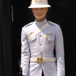 In recent days, despite a coup d'etat and political upheaval, the only military presence visitors are likely to see in Bangkok is the Honor Guards at the Royal Residence, as the city readjusts to everyday life. After all, this is the 11th such coup in the kingdom since 1932.
