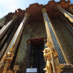 Intricate gold leaf mosaic and mythical creatures are a fixture of the Grand Palace, one of the great wonders of Asia.