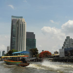 The Chao Phraya River is lined with first-rate hotels including The Peninsula.