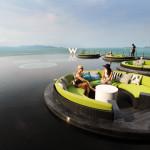 Infinity pool at the W Resort on Koh Samui.