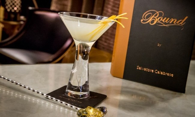 The Breakfast Martini at Bound by Salvatore at The Cromwell.
