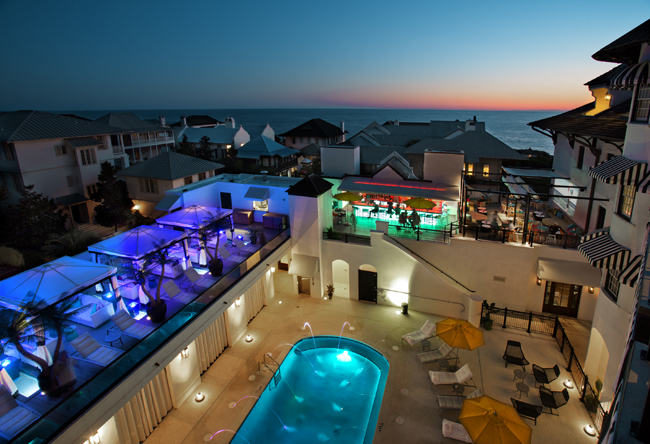 Thepearl Viewfromabove Your Clients Can Escape For A Peaceful Getaway At Pearl Hotel In Rosemary Beach