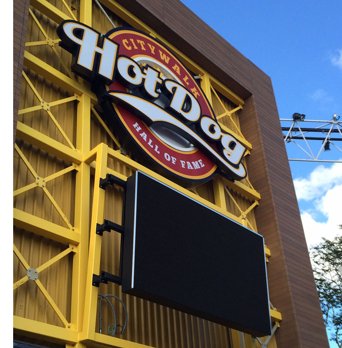 Hot Dog Hall of Fame is one of three new restaurants opening soon at CityWalk.