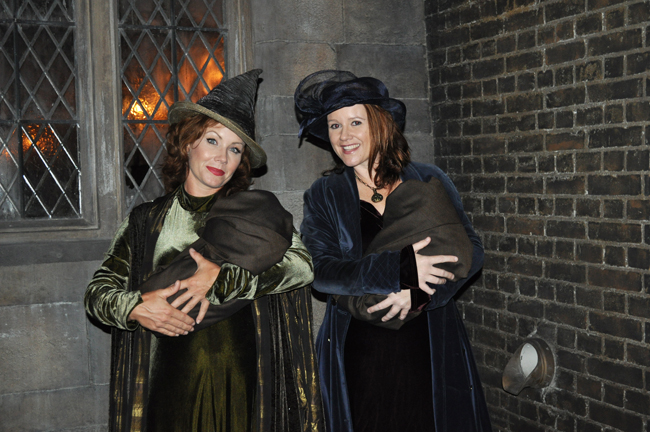 Witches, wizards and villagers were part of the immersive experience during the media preview.