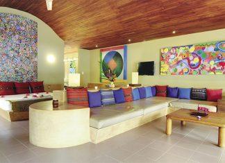 Beachfront Villa accommodations
