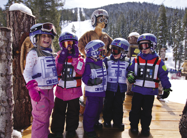 Kids can indulge at the Burton Star Wars Experience in Lake Tahoe.