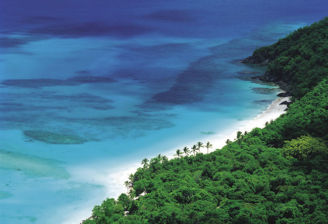 Caneel Bay in St. John offers pristine surroundings.