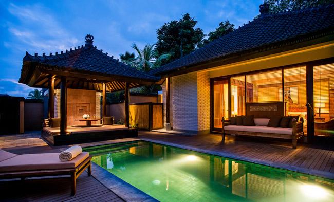 One Bedroom Pool Villa at Chedi Club Ubud in Bali.