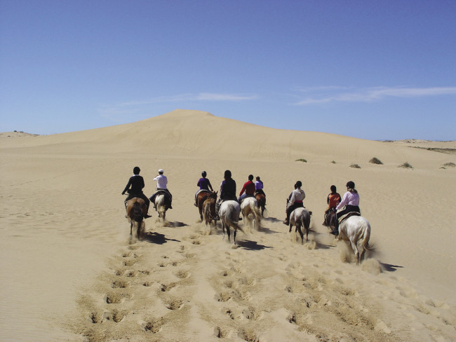 Horseback riding in Uruguay with Yampu Tours.