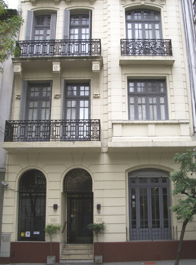 Facade of Buenos Aires' Art Hotel, a boutique property in Maipu, and hotel of choice on an Edible Destinations by Epitourean itinerary.