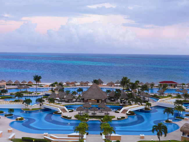 Moon Palace Golf & Spa Resort in Mexico.