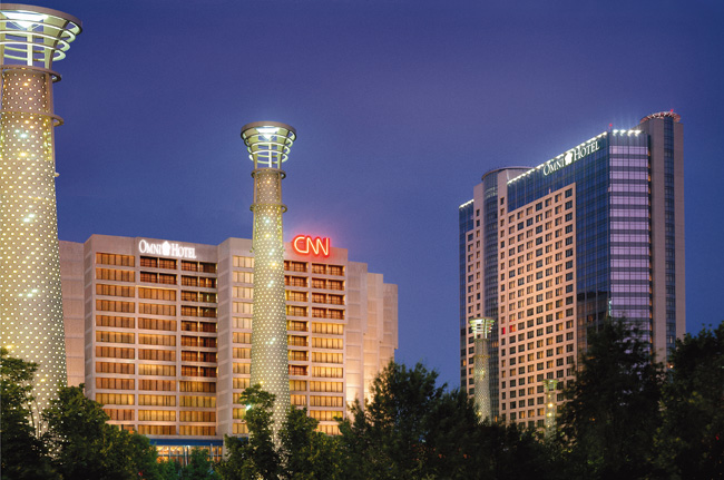 Omni Hotel at CNN Center offers College Football package.