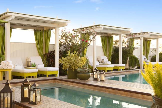 Ocean Key Resorts's pools and cabanas. (Photo credit Ocean Key Resort and Spa.)
