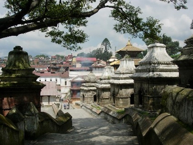 Views of Pashupati. (Photo courtesy of SITA India.)
