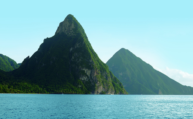 It's Saint Lucia Travel Agent Month time.