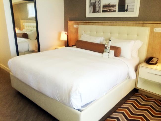 Marriott Stanton South Beach guestroom.