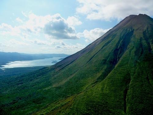 Arenal Volcano in Costa Rica.