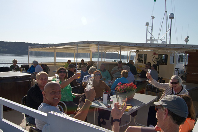Themed cruises are in high demand and Un-cruise Adventures offers a craft beer themed cruise.