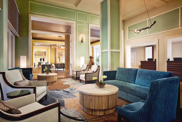 The Westin Resort Hilton Head Island Resort & Spa lobby area.