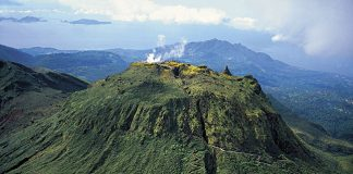 Mount Soufriere on Basse-Terre