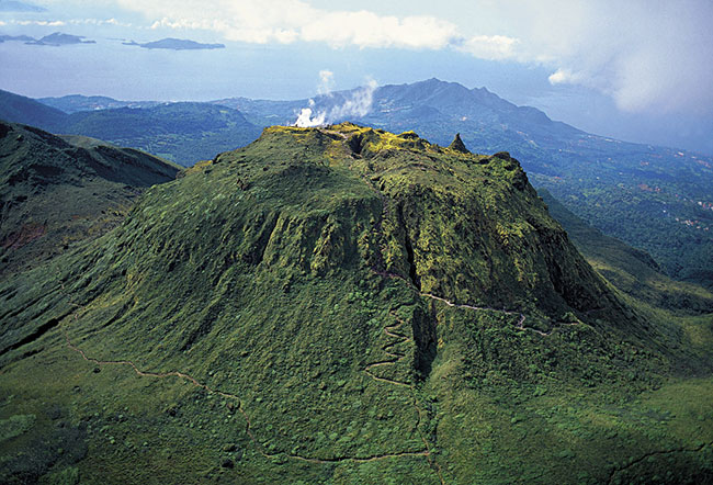 Mount Soufriere on Basse-Terre.