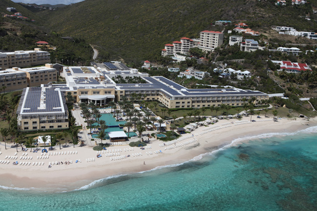 The Westing Dawn Beach Resort & Spa in St. Maarten.
