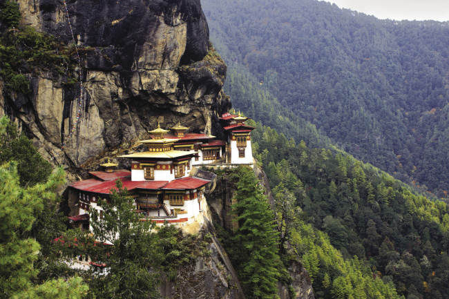 Travel agent fam rates: Taktsang Monastery in Bhutan