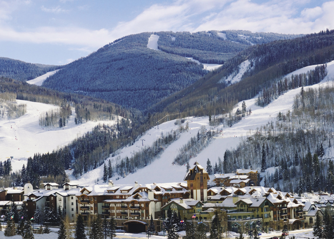 Bird's-eye view of The Sebastian-Vail.