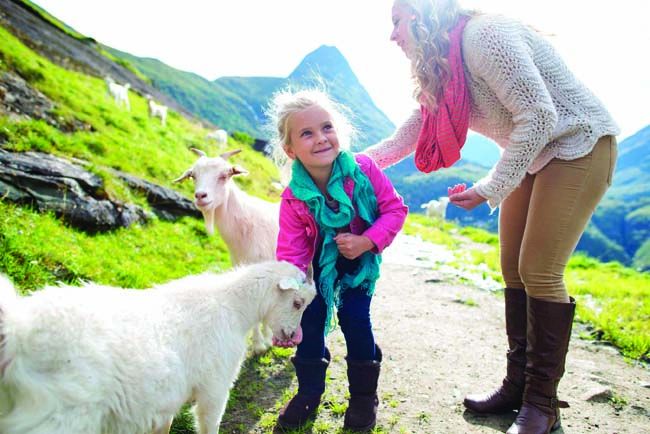 On a visit to Westeras Farm in Norway, guests will get a hands-on experience in the daily rituals of farm life on the latest Adventures by Disney vacation.