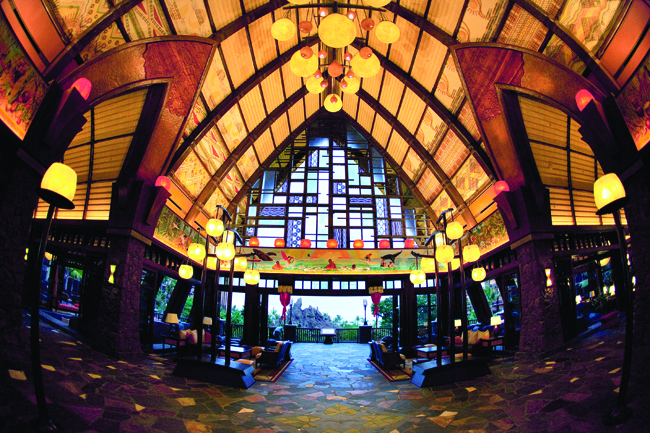 Lobby at Aulani, A Disney Resort and Spa.