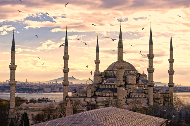 The Blue Mosque in Istanbul is part of a new educational FAMs with IsramWorld.