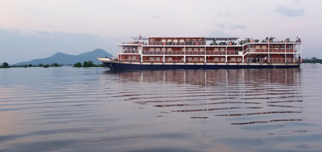 Traveling up the Mekong River with CroisiEurope. (Photo Credit CroisiEurope.)