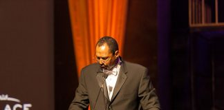 Frank Corzo, , vice president, U.S. field sales for Palace Resorts, hosting the PRO specialist awards gala.