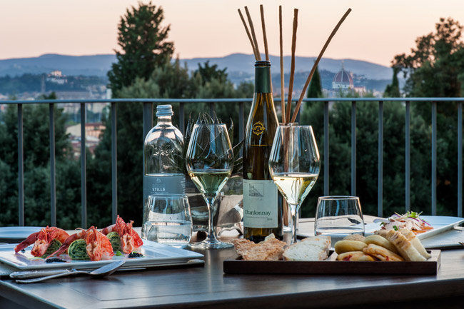 Your clients can take an Italian culinary jaunt with Il Salvatino's Florentine Food for Thought package.