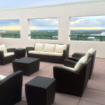 Immense terrace at the International Suite- a 4-bedroom, penthouse suite.