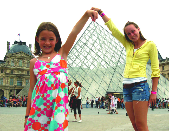 Tauck Paris Louvre pyramid