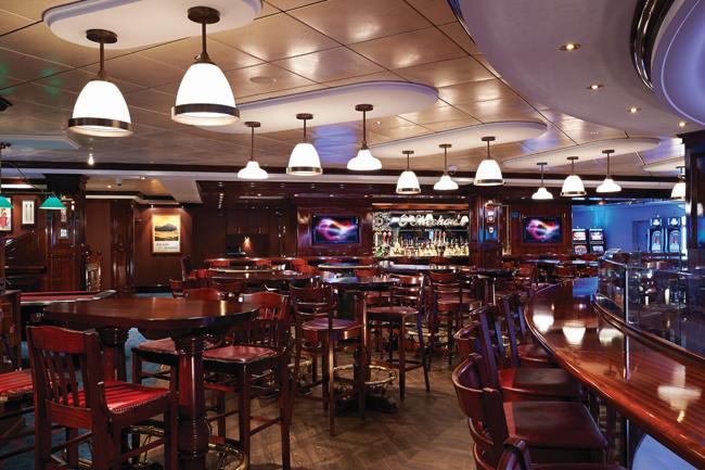 Norwegian Getaways' O'Sheehan's Neighborhood Bar & Grill.