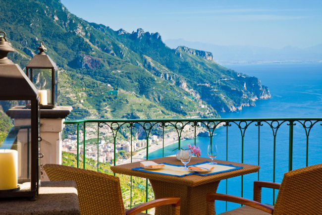 Palazzo Avino renovated all 43 rooms and suites.
